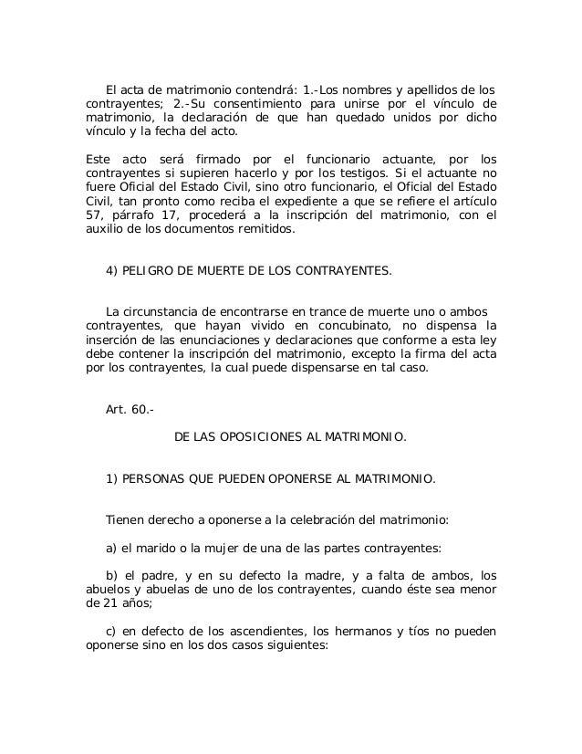 Matrimonio De Convivencia : Rep dominicana ley no del de julio
