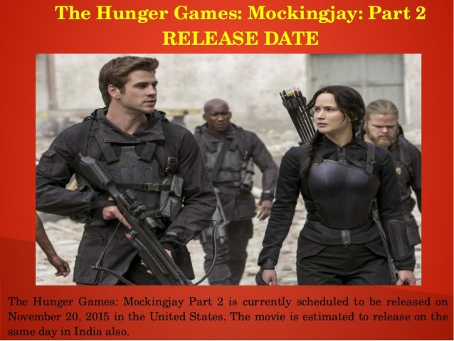 Mockingjay release date in Sydney