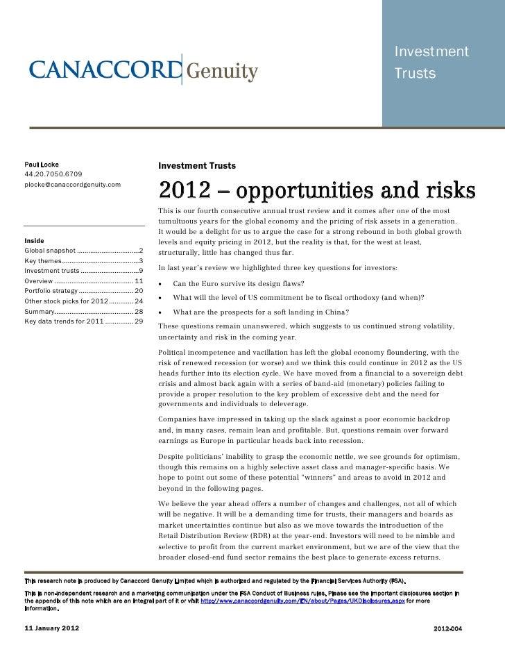 Paul Locke                                               Investment Trusts44.20.7050.6709plocke@canaccordgenuity.com      ...