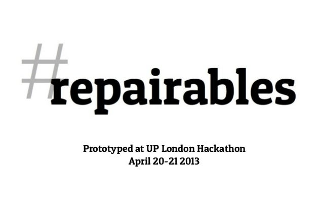 Prototyped at UP London HackathonApril 20-21 2013