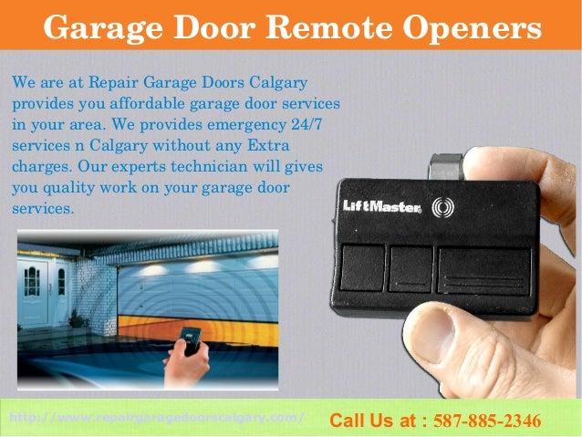 Repair Garage Doors Calgary Residential Amp Commercial