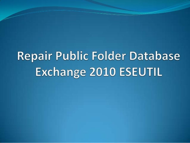 how to create a public folder in exchange 2010