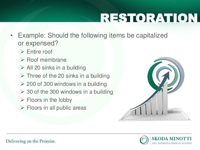 Capitalized Or Not Depreciation On New Building