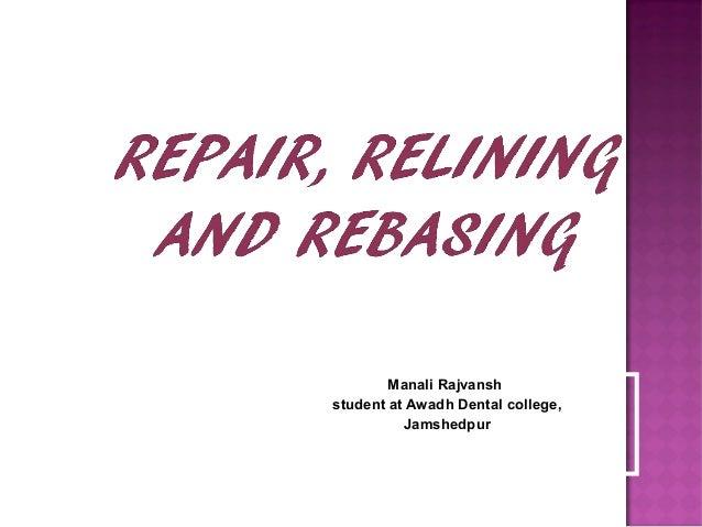 Manali Rajvansh student at Awadh Dental college, Jamshedpur