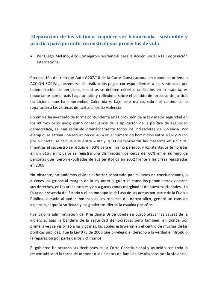 ACCIÓN SOCIAL: REPARACIÓN VÍCTIMAS DE LA VIOLENCIA - photo#22