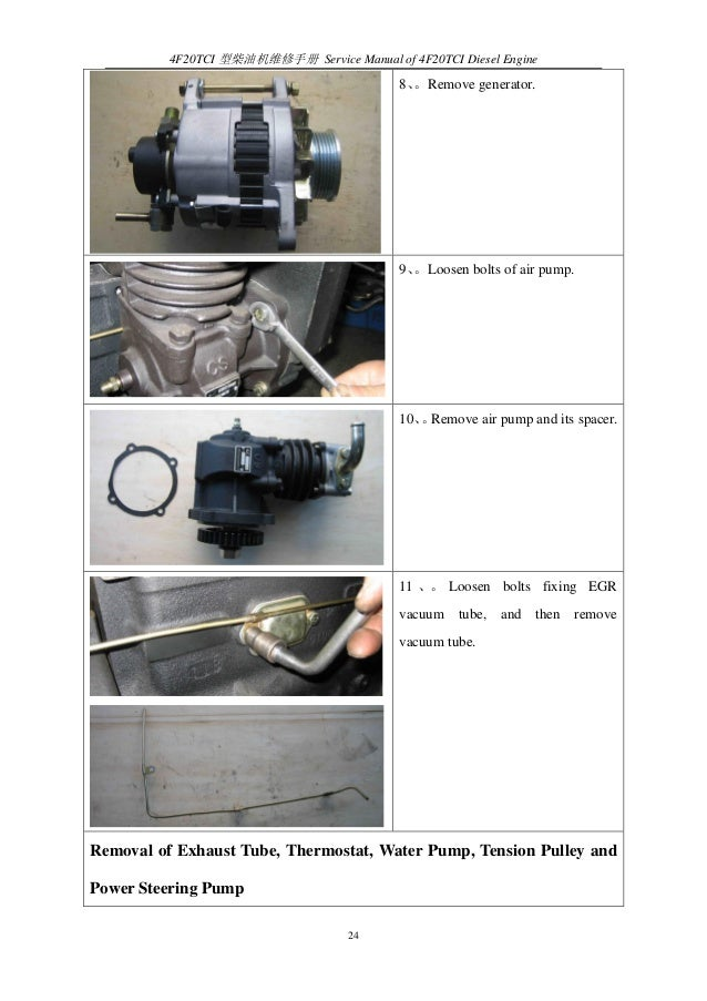 Reparacion motor changchai 2 0