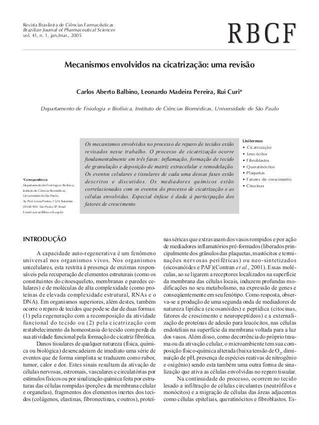 Revista Brasileira de Ciências Farmacêuticas Brazilian Journal of Pharmaceutical Sciences vol. 41, n. 1, jan./mar., 2005 M...