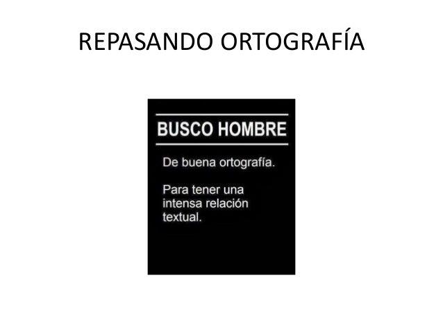 REPASANDO ORTOGRAFÍA