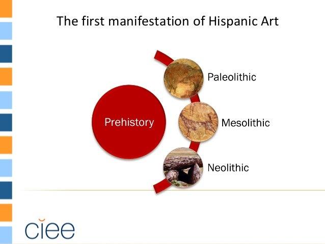 The first manifestation of Hispanic Art