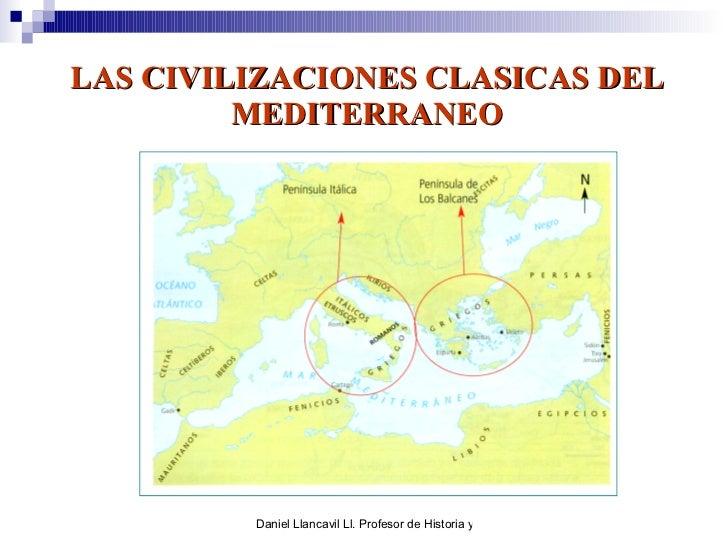 LAS CIVILIZACIONES CLASICAS DEL MEDITERRANEO