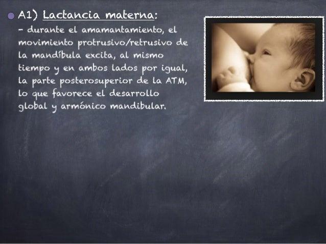 A1) Lactancia materna: