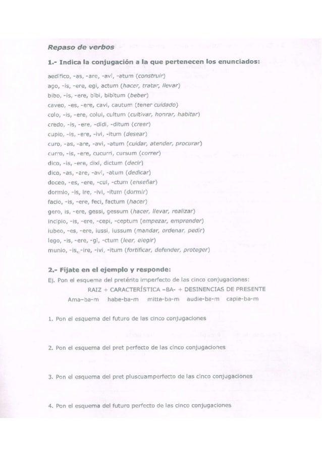 Repaso de verbos (15 10-2014)
