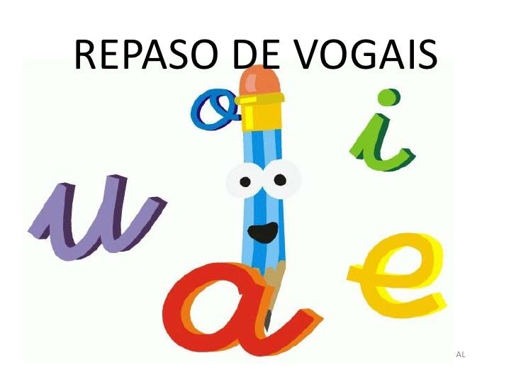 REPASO DE VOGAIS<br />PATRICIA PENA BARBEITO, MESTRE DE AL<br />