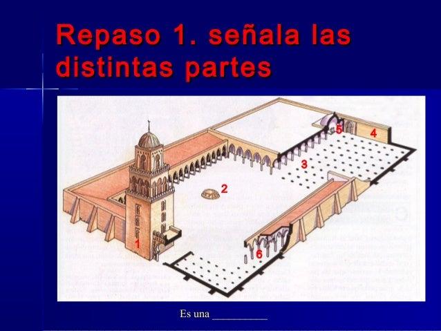 Repaso 1. señala lasRepaso 1. señala las distintas partesdistintas partes Es una __________ 1 2 3 45 6