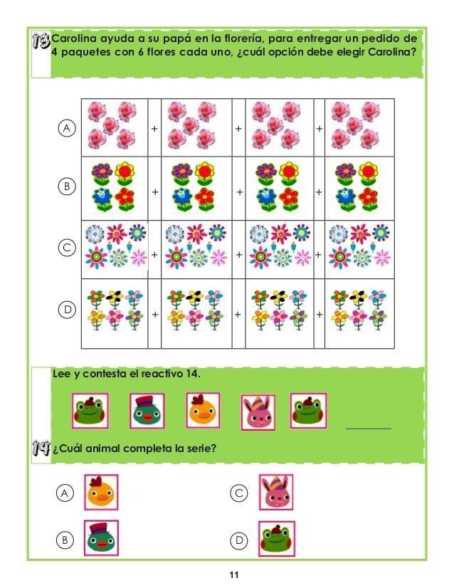 11 Carolina ayuda a su papá en la florería, para entregar un pedido de 4 paquetes con 6 flores cada uno, ¿cuál opción debe...