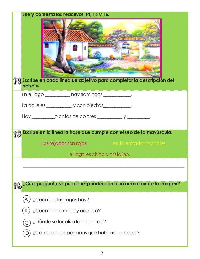 7 ¿Cuál pregunta se puede responder con la información de la imagen? Escribe en la línea la frase que cumple con el uso de...