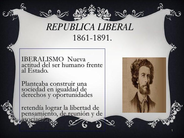 Republica liberal Chile