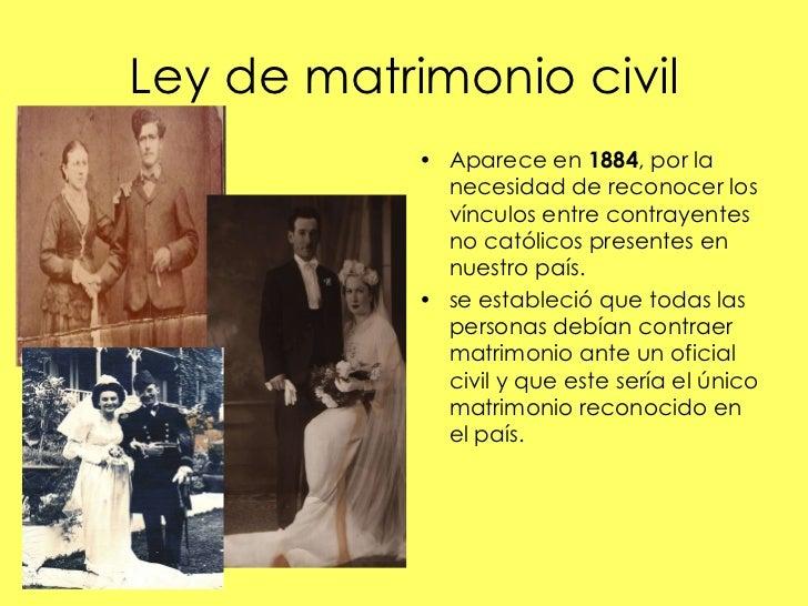 Matrimonio Catolico Resumen : República liberal
