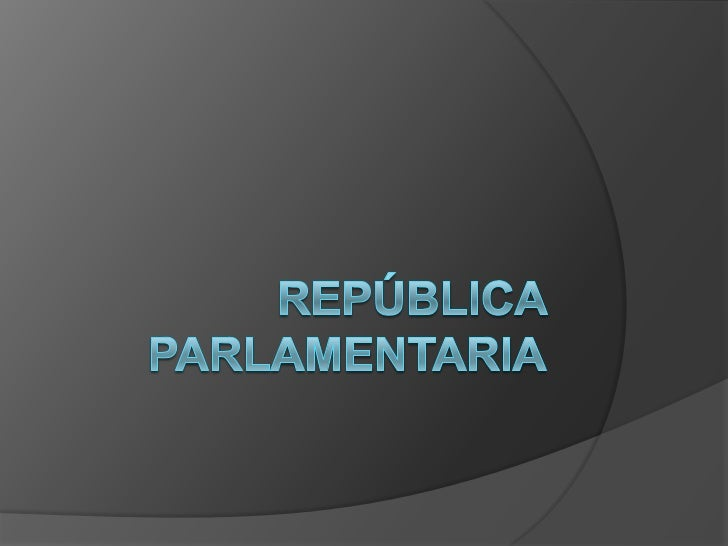    La         república    parlamentaria     se    inicia   con       el    gobierno de Jorge    Montt (1891-1896) y    c...