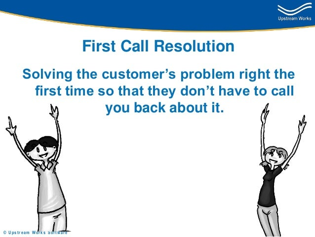 first call resolution tips