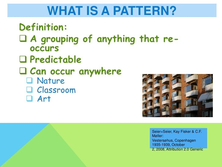 Repeating And Growing Patterns Mesmerizing Pattern Definition Math