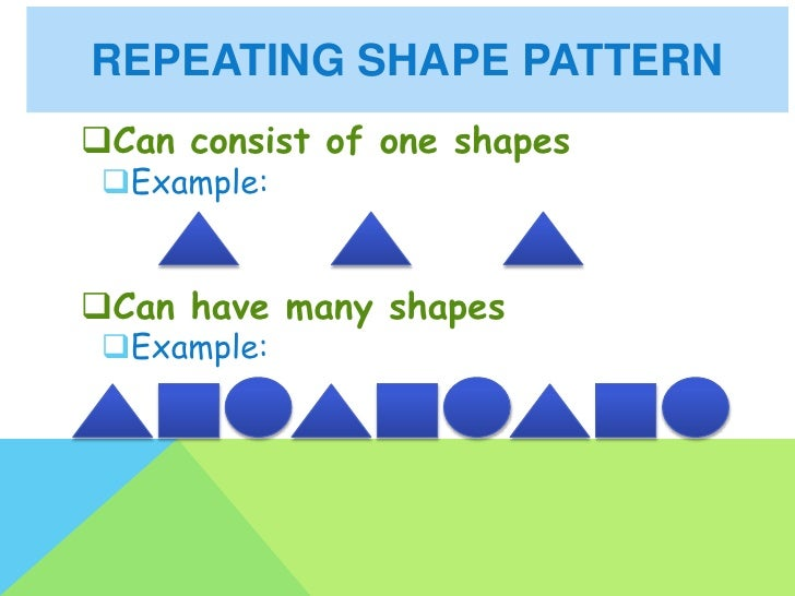Repeating and growing patterns – Growing Patterns Worksheet