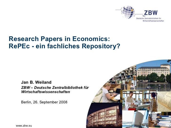 research paper repository Computing research relies heavily on the rapid dissemination of results  in the  rest of this article, i briefly describe how the repository was set up and discuss.