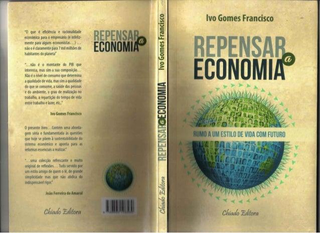 REPENSAR A ECONOMIA, de Ivo Gomes Francisco (2014)