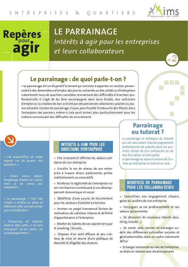 """Contact Patricia Charrier Responsable du Pôle""""Entreprises & Quartiers"""" 01 43 87 51 56 charrier@imsentreprendre.com Créé en..."""
