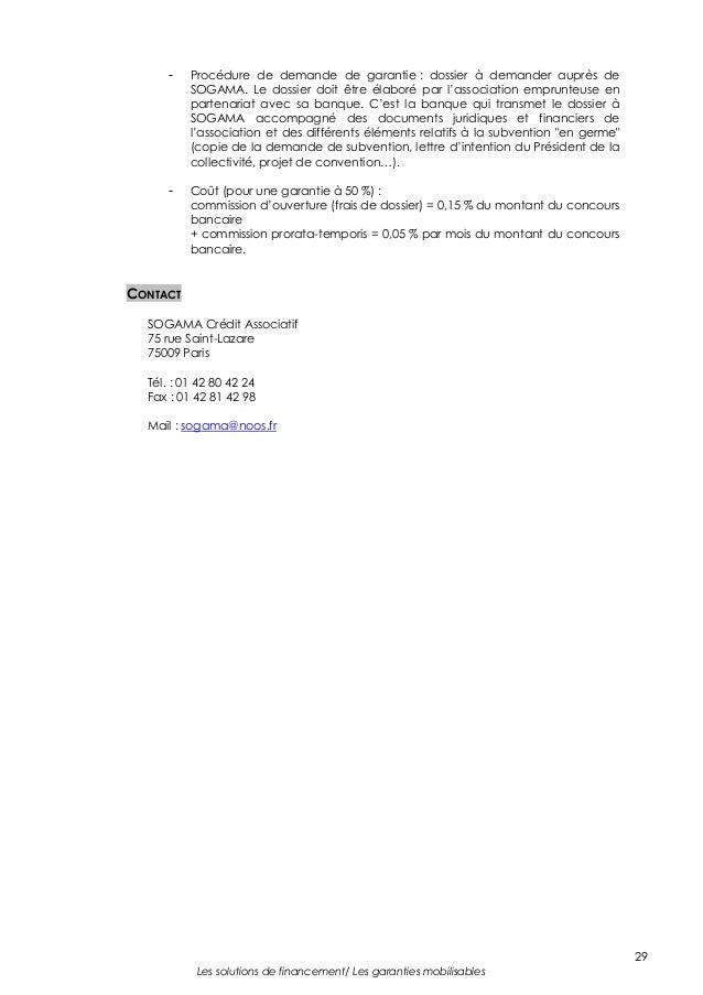 Lettre Type Demande De Subvention Banque