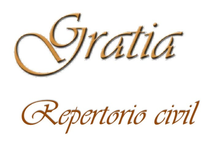 Repertorio civil