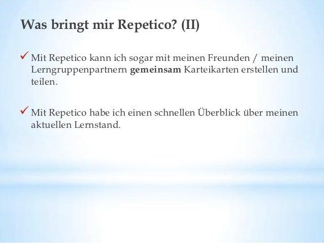 Was sagen andere über Repetico?Prof. Dr. Hanno Kube, Universität Mainz:Durch die automatisierte Wiedervorlage der Karteika...