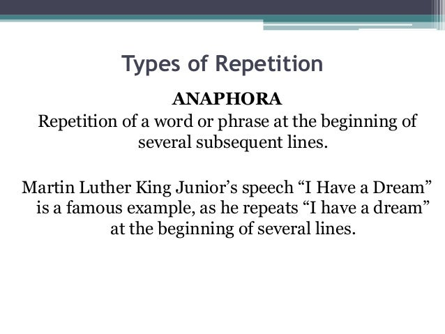 i have a dream rhetorical devices Imagery in martin luther king jr's i have a dream  rather than using fancy  rhetoric, king sticks to basic images and symbols with which.