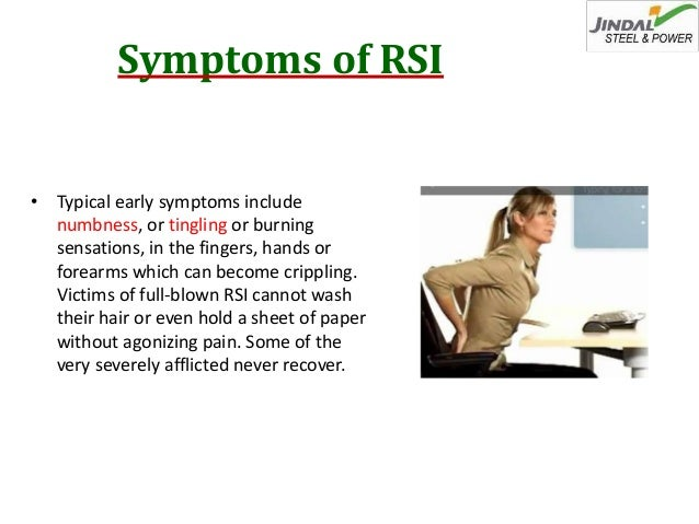 repetitive stress injuries causes prevention and Author ann shuttleworth, ba, is a freelance health care journalist article repetitive strain injury is an umbrella term that describes a number of musculoskeletal.