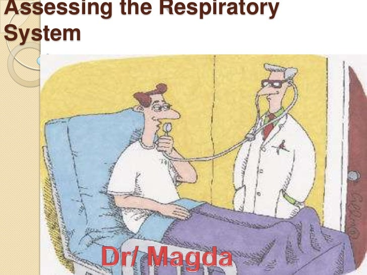 Assessing the RespiratorySystem