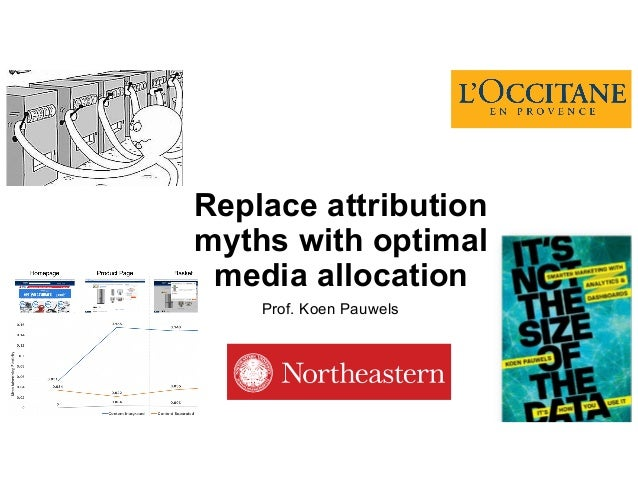 Prof. Koen Pauwels Replace attribution myths with optimal media allocation