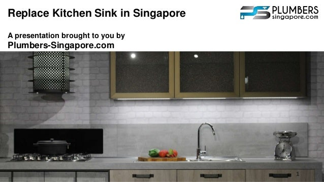 Replace Kitchen Sink in Singapore