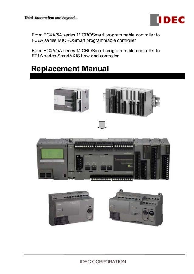 IDEC thay thế PLC dòng FC4A, FC5A bằng dòng PLC mới FC6A Idec Plc Wiring Schematic on