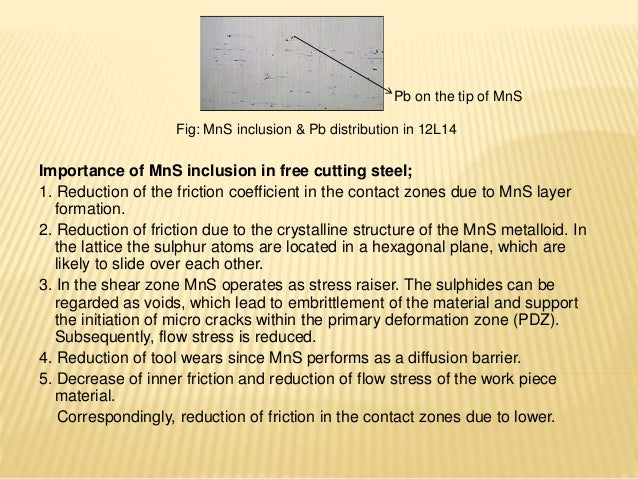 Replacement of lead Free Cutting Steel - 2018 research paper