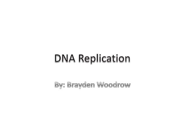 DNA Replication DNA replication is the process where a copy of a DNA strand is made and the genetic information it contain...
