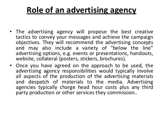 the main role of an advertising The words promotion and marketing are often used interchangeably what are the roles that promotion plays in marketing three main advertising objectives.