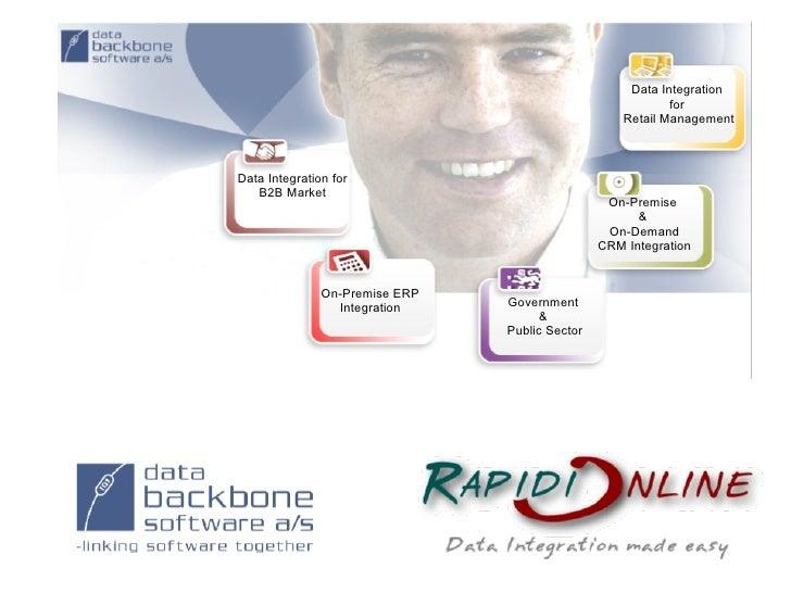 Data Integration                                                             for                                          ...