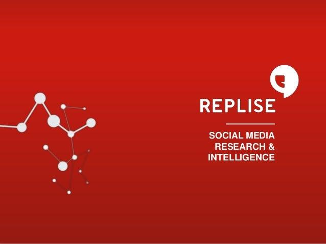 SOCIAL MEDIA RESEARCH & INTELLIGENCE