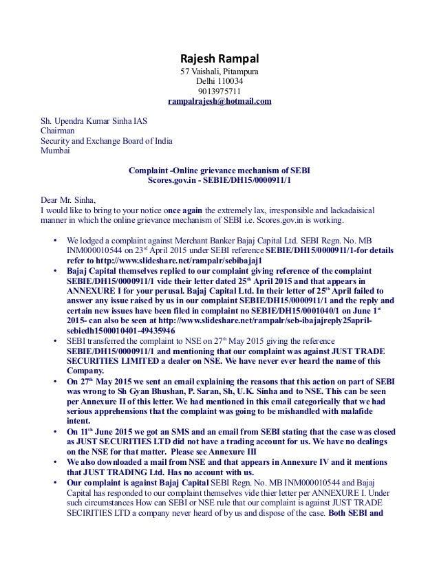 C Rajesh Rampal 57 Vaishali, Pitampura Delhi 110034 9013975711 rampalrajesh@hotmail.com Sh. Upendra Kumar Sinha IAS Chairm...