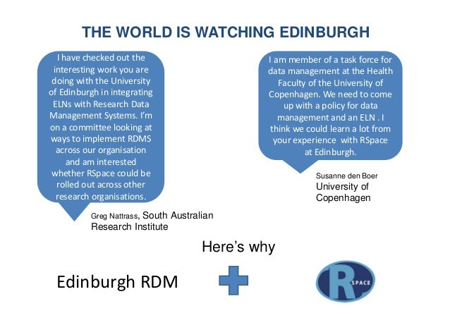 THE WORLD IS WATCHING EDINBURGH Greg Nattrass, South Australian Research Institute I have checked out the interesting work...