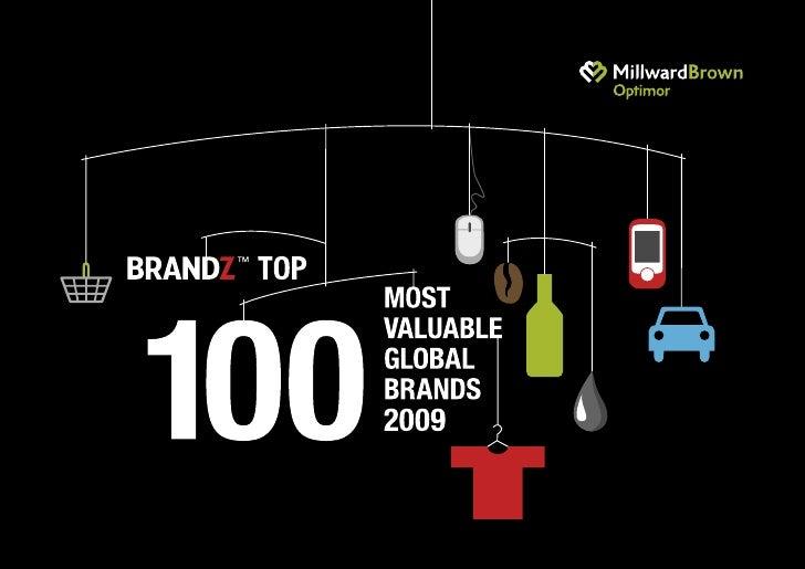BrandZ Top 100 Most Valuable Global Brands 2009 1                                                     2