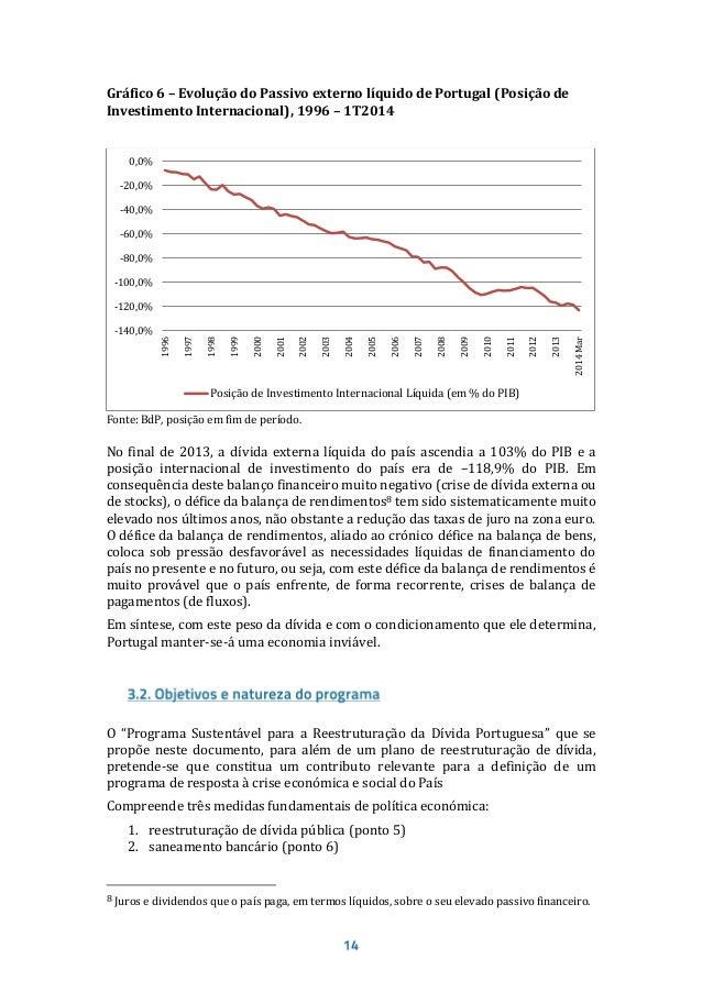 Terceiro e quarto objetivos: restaurar a sustentabilidade das contas públicas e promover o desenvolvimento económico e o c...