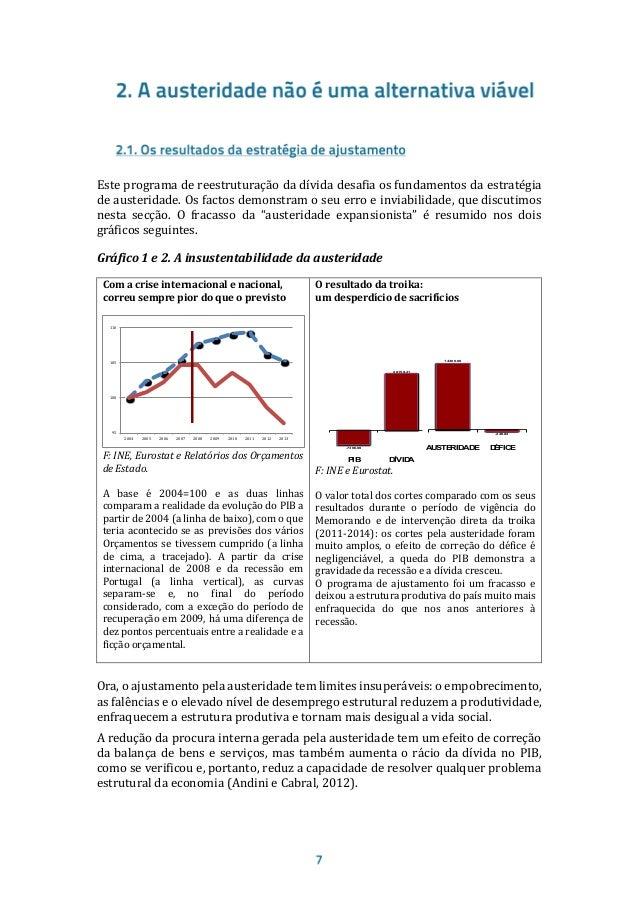 Os factos demonstram, assim, que a atual estratégia da troika de resposta à crise, baseada num longo processo de ajustamen...