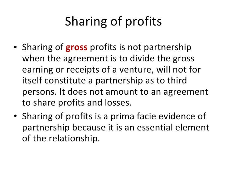 Report On Partnership General Discussion