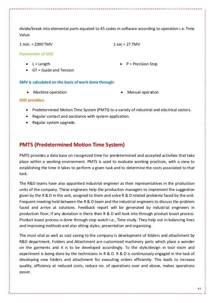 modelama exports apparel manufacturing internship report